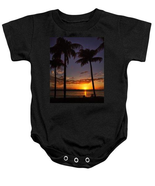 Sanibel Island Sunset Baby Onesie