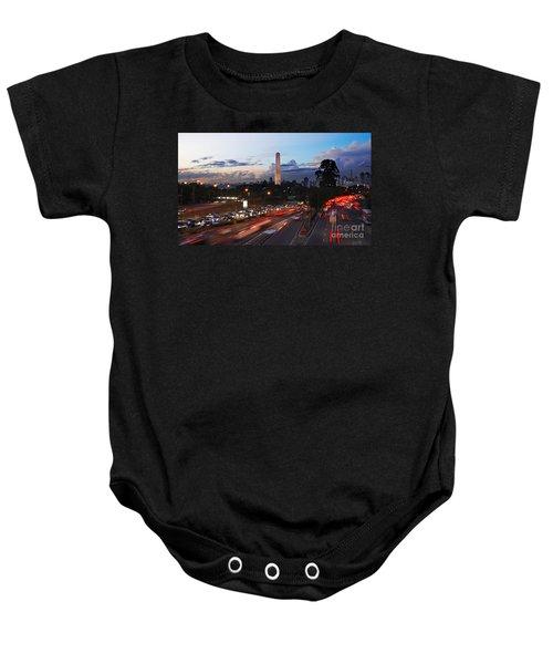Sao Paulo Skyline - Ibirapuera Baby Onesie