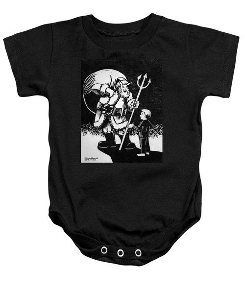 Satan Santa Baby Onesie