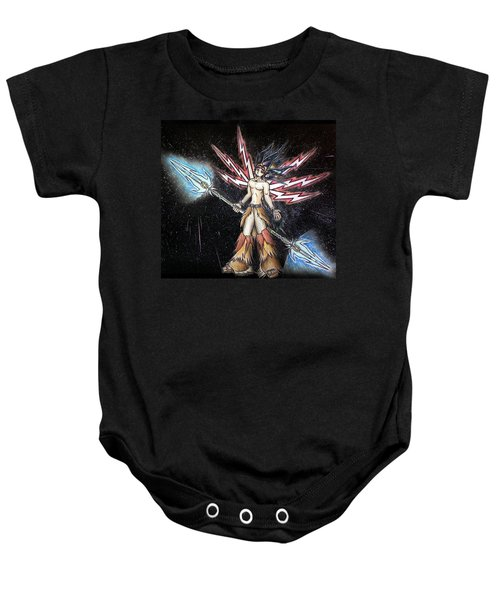 Satari God Of War And Battles Baby Onesie