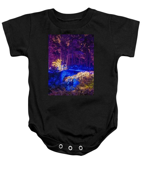 Stone Bridge - Crop Baby Onesie