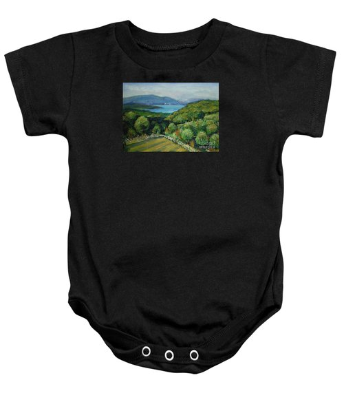 Seascape From Kavran Baby Onesie