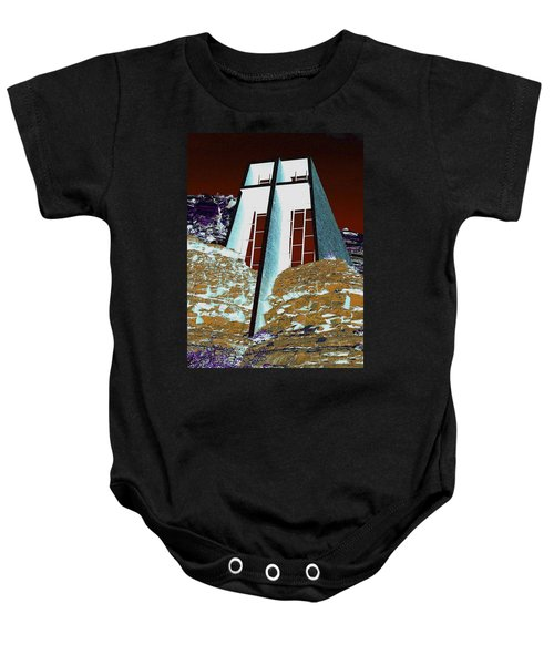 Sedona Rock Church Baby Onesie