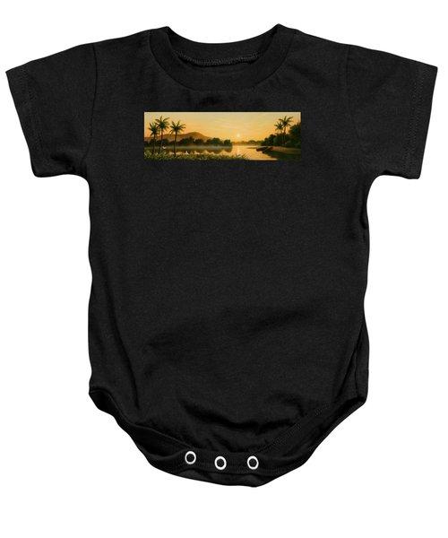 Seminole Sunset Baby Onesie