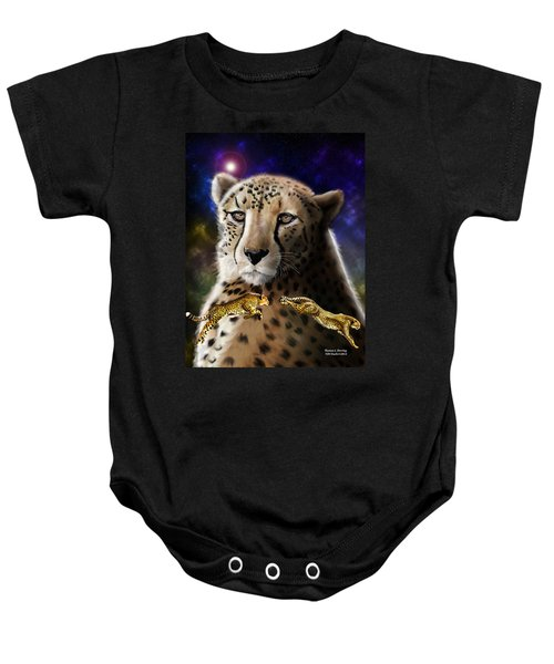 First In The Big Cat Series - Cheetah Baby Onesie