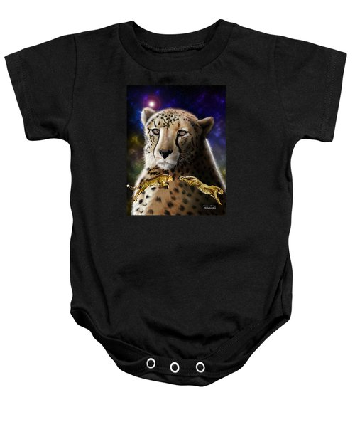 First In The Big Cat Series - Cheetah Baby Onesie