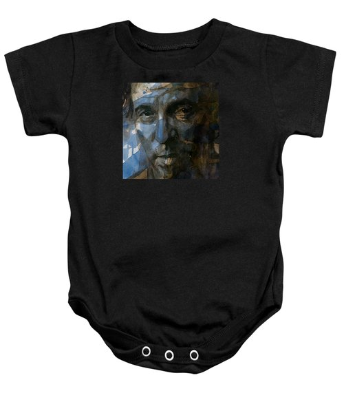 Shackled And Drawn Baby Onesie by Paul Lovering