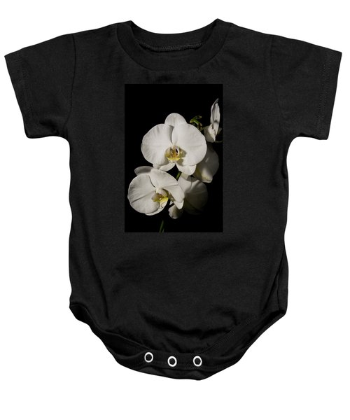 Shadowy Orchids Baby Onesie