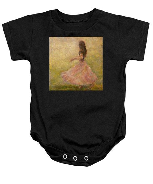 She Dances With The Rain Baby Onesie