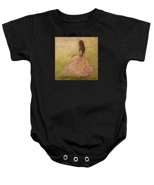 She Dances With The Rain Baby Onesie