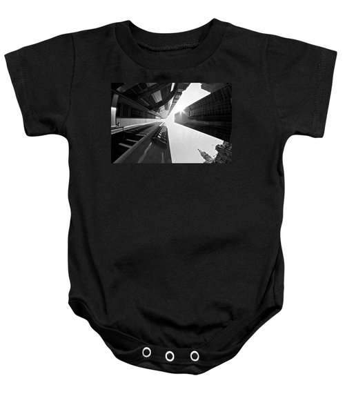 Sign In The Sky Baby Onesie