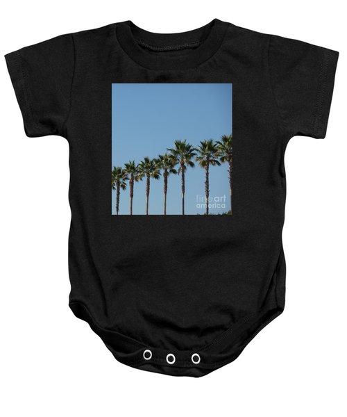 Simply Palms Baby Onesie