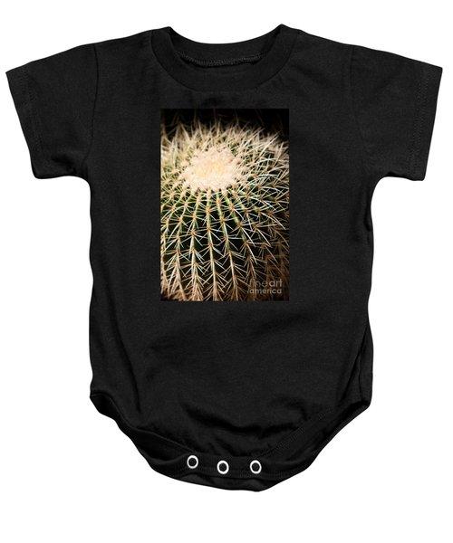 Single Cactus Ball Baby Onesie