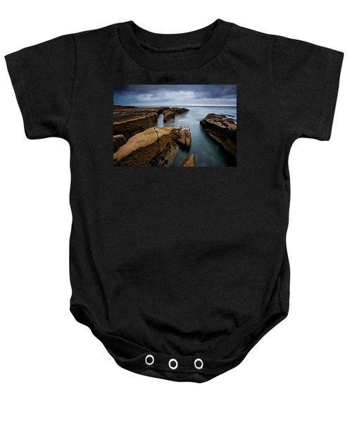 Smooth Seas Baby Onesie