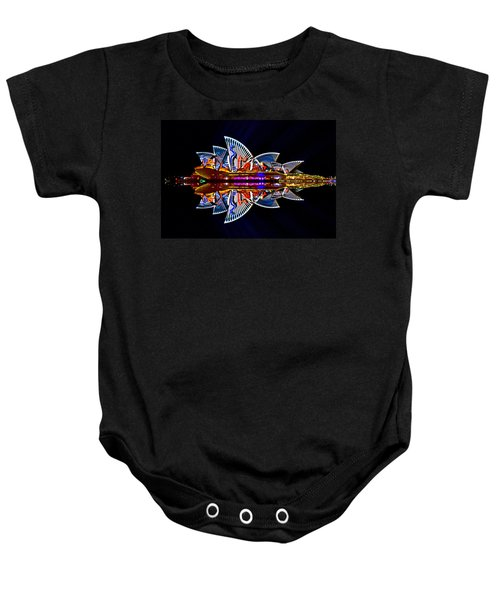 Snakes On The Opera House Baby Onesie