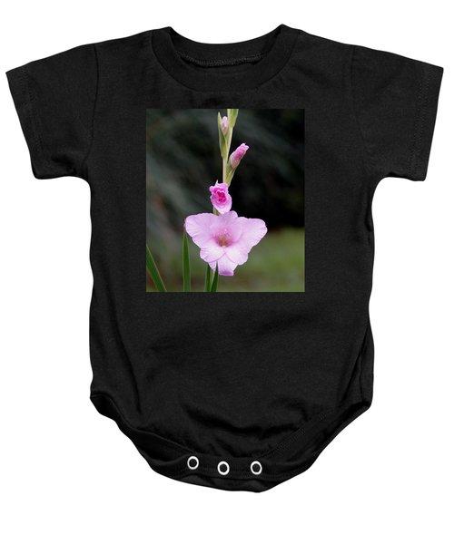 Soft Pink Glad Baby Onesie