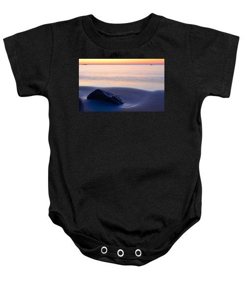 Solitude Singing Beach Baby Onesie