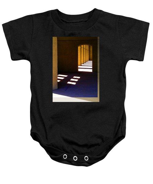 Spanish Arches Light Shadow Baby Onesie