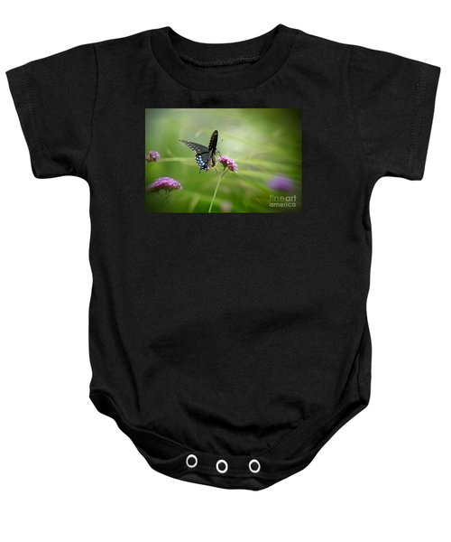 Spicebush Swallowtail Butterfly Baby Onesie