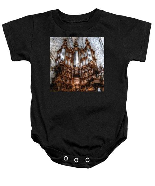 Spooky Organ Baby Onesie