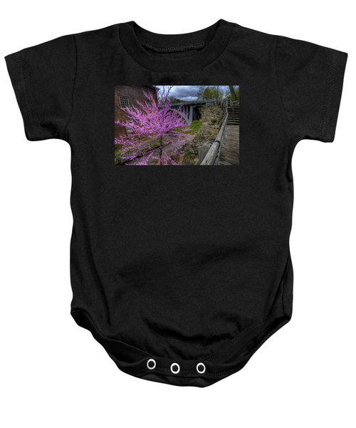 Spring At The Mill Baby Onesie