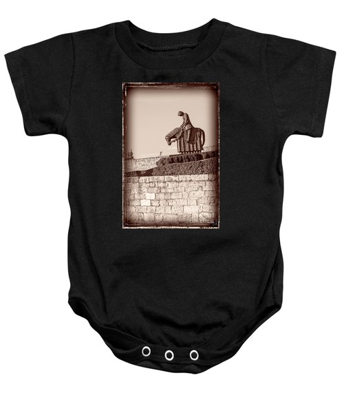 St Francis Returns From Crusades Baby Onesie