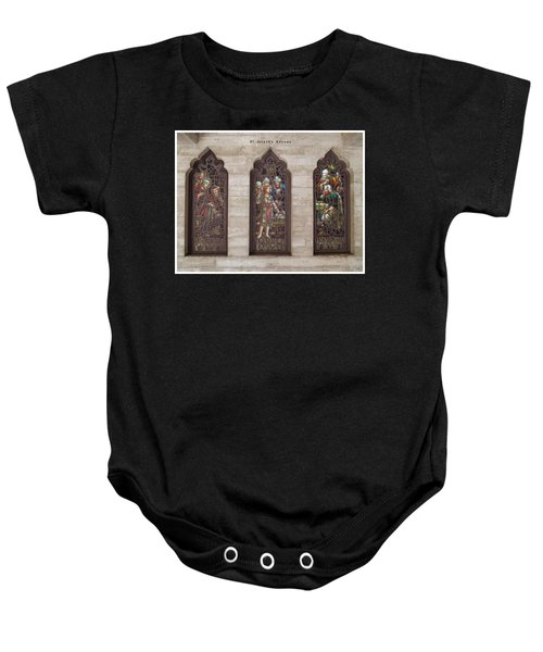 St Josephs Arcade - The Mission Inn Baby Onesie