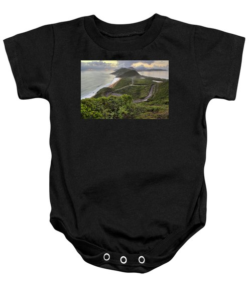 St Kitts Overlook Baby Onesie