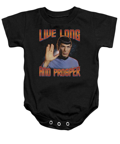 St Original - Live Long And Prosper Baby Onesie