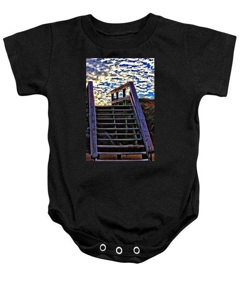 Stairway To Heaven Baby Onesie