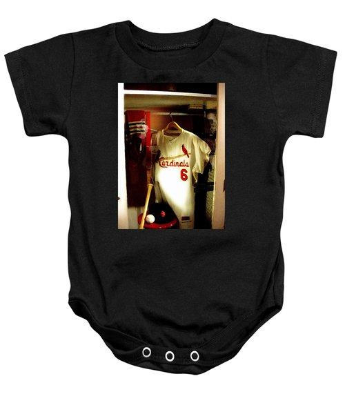 Stan The Man's Locker Stan Musial Baby Onesie