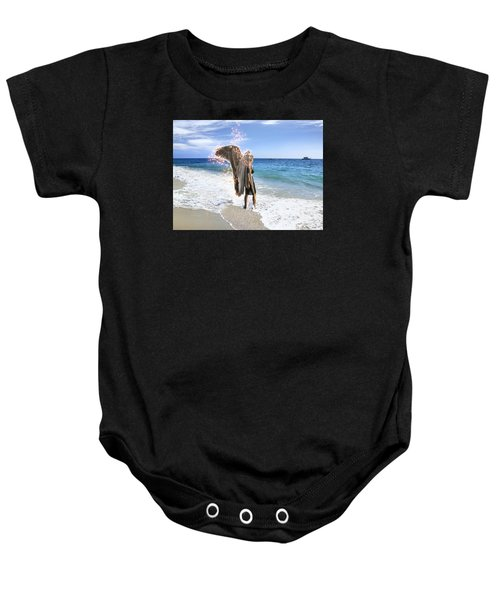 Stand Your Ground I Am With You Baby Onesie