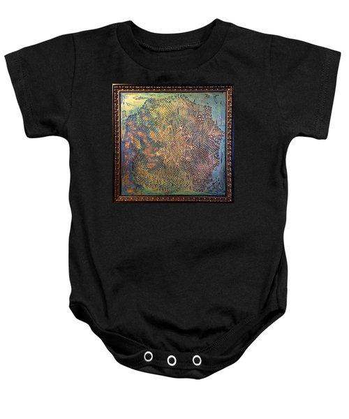 Star Masterpiece By Alfredo Garcia Art Baby Onesie