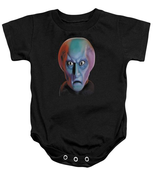 Star Trek - Balok Head Baby Onesie