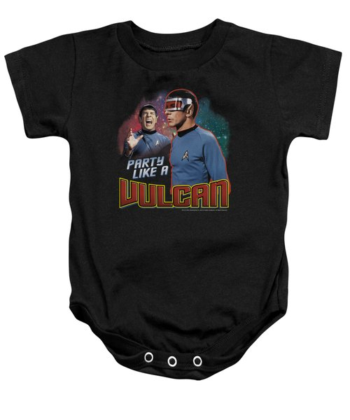 Star Trek - Party Like A Vulcan Baby Onesie