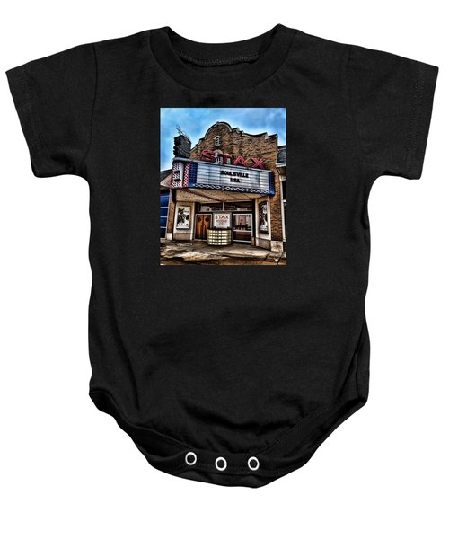 Stax Records Baby Onesie by Stephen Stookey