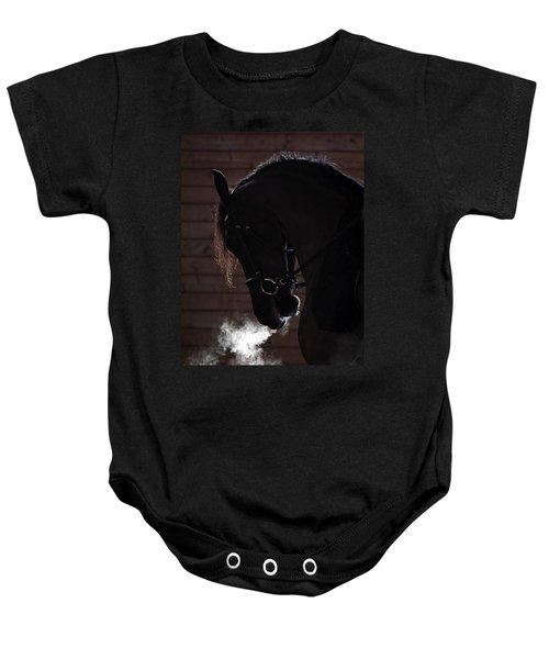 Steam Engine Baby Onesie