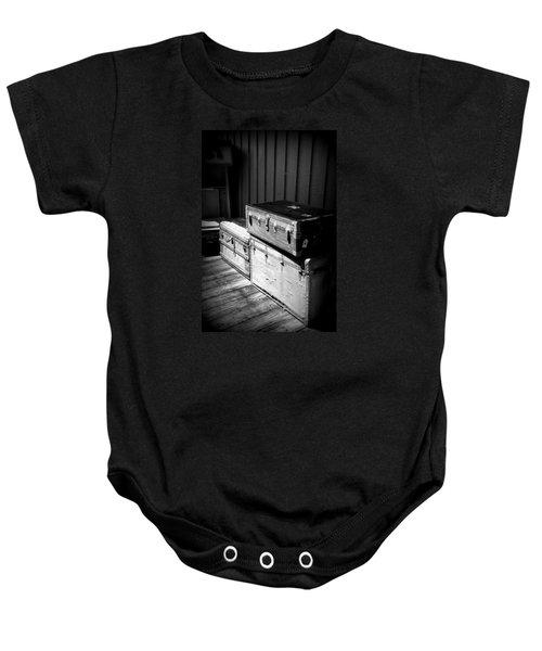 Steamer Trunks Baby Onesie