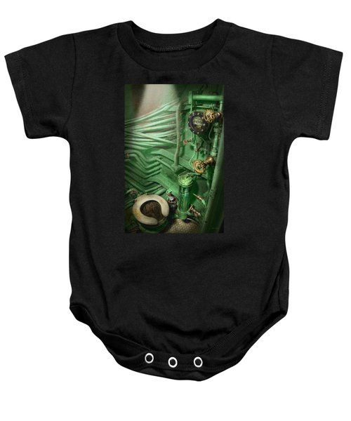 Steampunk - Naval - Plumbing - The Head Baby Onesie