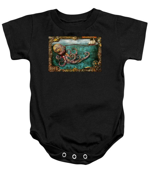 Steampunk - The Tale Of The Kraken Baby Onesie