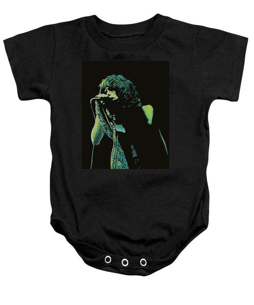 Steven Tyler 2 Baby Onesie by Paul Meijering
