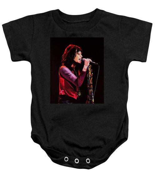 Steven Tyler Baby Onesie by Paul Meijering