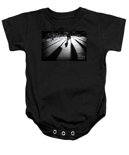 Street Shadow Baby Onesie