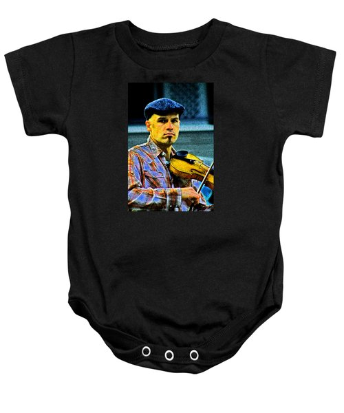 My String Instrument Baby Onesie