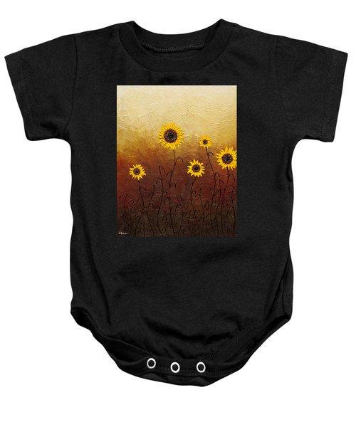 Sunflowers 1 Baby Onesie