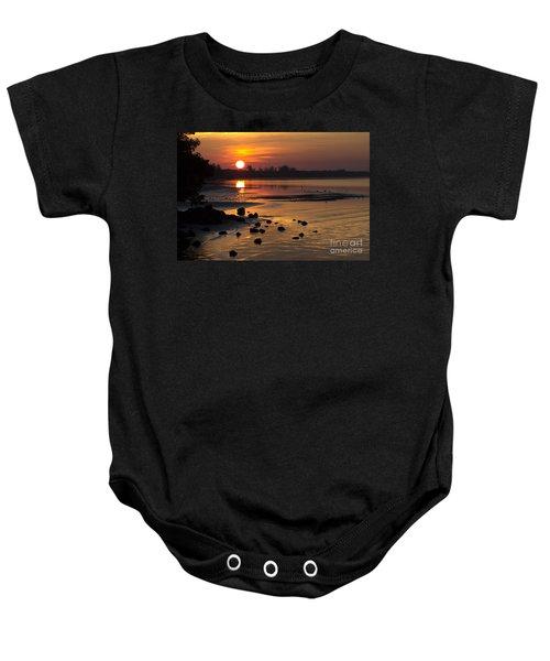 Sunrise Photograph Baby Onesie