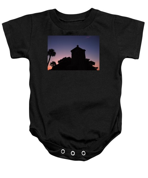 Sunset At The Gate Baby Onesie