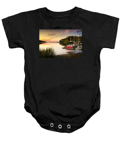 Sunset In Centerport Baby Onesie