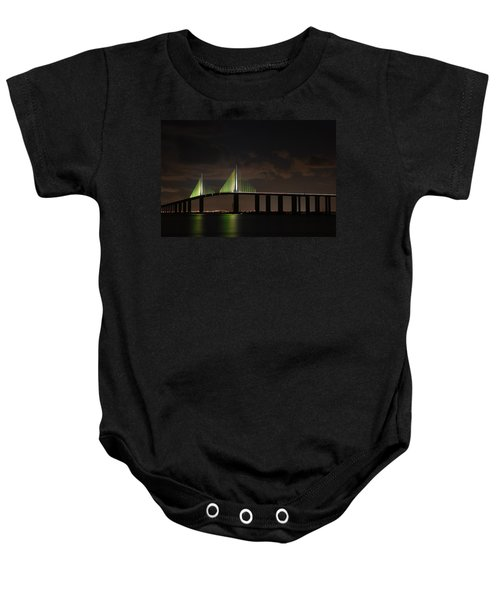 Sunshine Skyway Bridge Baby Onesie