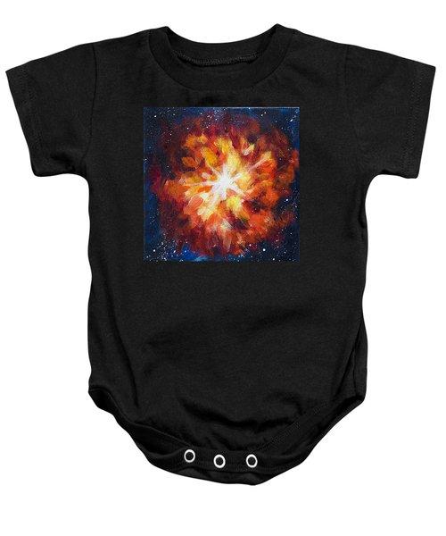 Supernova Explosion Baby Onesie